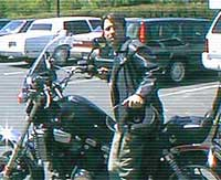 Dave on motorcycle
